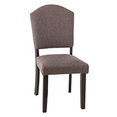 Hillsdale Furniture Emerson Gray Parson Dining Chair 2-piece Set