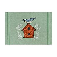 Celebrate Spring Together Birdhouse Placemat