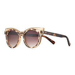 LC Lauren Conrad Alivia 51mm Round Sunglasses