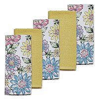 Celebrate Spring Together Fiona Floral Kitchen Towel 5-pk.