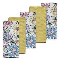 Celebrate Spring Together Fiona Floral Kitchen Towel 5-pk.