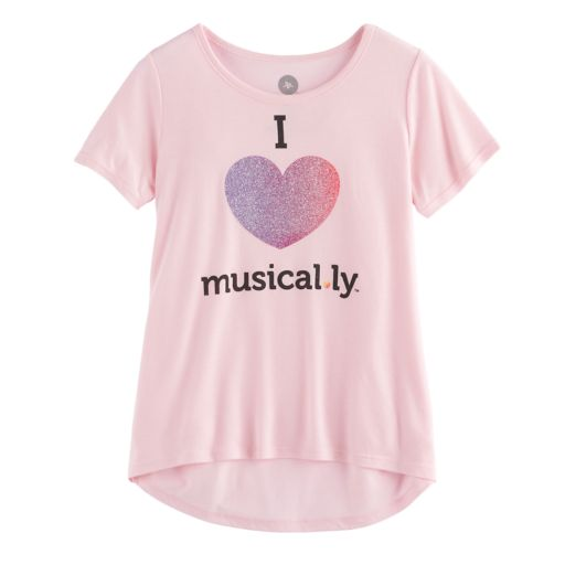 "Girls 7-16 ""Musical.ly"" Graphic Tee"