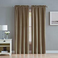 VCNY 2-pack Velvet Window Curtains