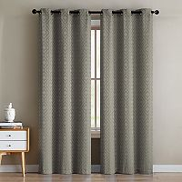 VCNY 2-pack Sarah Jacquard Window Curtains