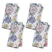 Celebrate Spring Together Floral Print Napkin 4-pk.