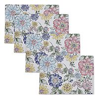 Celebrate Spring Together Floral Print Placemat 4-pk.