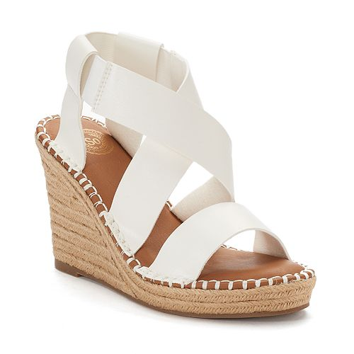 SO® Halibut Women's Wedge Sandals