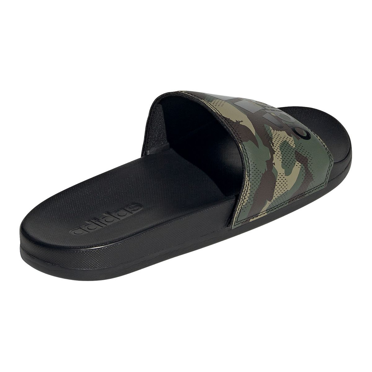 adidas Adilette Cloudfoam Plus Men's Slide Sandals Red White Black 6fWuX