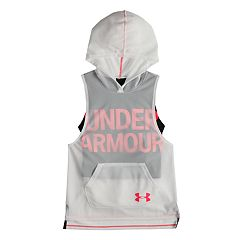 Girls 7-16 Under Armour Finale Sleeveless Hoodie