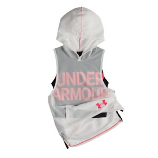 Girls 7-16 Under Armour Finale Sleeveless Hoodie