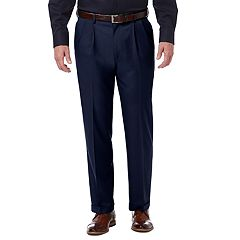 Men's Haggar Premium Comfort Stretch Classic-Fit Pleated Dress Pants