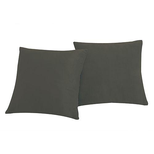 VCNY Home Velvet 2-piece Throw Pillow Set