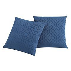 VCNY Home Sarah Jacquard 2-piece Throw Pillow Set