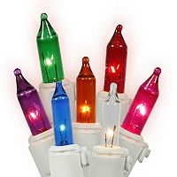 150 Multi-Colored Indoor / Outdoor Mini Christmas Lights
