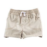 Baby Girl Jumping Beans® Rolled Cuffed Shorts
