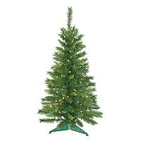 3.5-ft. Pre-Lit Imperial Pine Artificial Christmas Tree