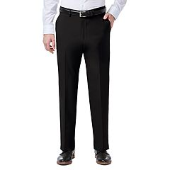 Men's J.M. Haggar 4-way Stretch Classic-Fit Expandable-Waist Flat-Front Dress Pants