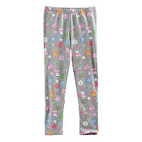 Disney / Pixar Coco Girls 4-7 Skull & Floral Printed Leggings by Jumping Beans®