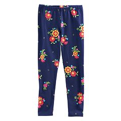Disney / Pixar Coco Girls 4-7 Floral Print Leggings by Jumping Beans®