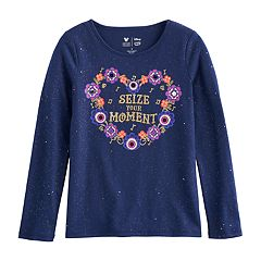 Disney / Pixar Coco Girls 4-7 Glittery 'Seize Your Moment' Graphic Tee by Jumping Beans®