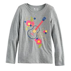 Disney / Pixar Coco Girls 4-7 Glittery 'Power of Music' Guitar Graphic Tee by Jumping Beans®