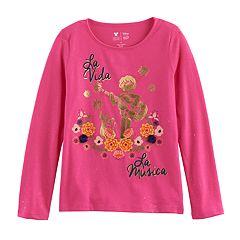 Disney / Pixar Coco Girls 4-7 'La Vida La Musica' Graphic Tee by Jumping Beans®