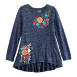 Disney / Pixar Coco Girls 4-7 Back Peplum Music Tee by Jumping Beans®