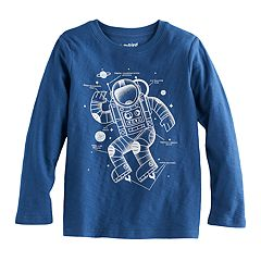 Boys 4-10 Jumping Beans® Long Sleeve Graphic Tee