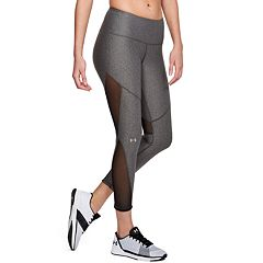 Women's Under Armour HeatGear Mesh Mid-Rise Ankle Leggings