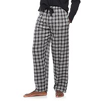 Big & Tall Chaps Plaid Flannel Lounge Pants