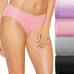 Hanes Ultimate 4-pk. + 1 Bonus Comfort Soft Bikini Panties 46HUSK