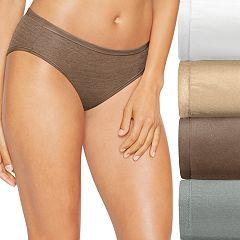 Hanes Ultimate 4 pk+ 1 Bonus Comfort Soft Bikini Panties 46HUSK