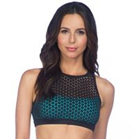 PL Movement by Pink Lotus Bras: Laser Cut Low-Impact Sports Bra PT8G655