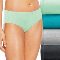 Hanes Ultimate 4 pk+ 1 Bonus Comfort Soft Hipster Panties 46HUSH