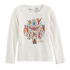 Disney / Pixar Coco Girls 4-7 'La Familia' Family Tree Graphic Tee by Jumping Beans®