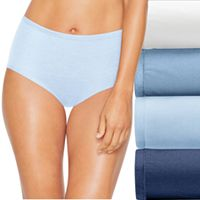 Hanes Ultimate 4 pk+ 1 Bonus Comfort Soft Brief Panties 46HUSB