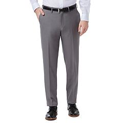 Men's Haggar® Premium Comfort Flex-Waist Slim-Fit Stretch Flat-Front Dress Pants