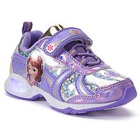 Disney's Sofia the First Toddler Girls' Light Up Shoes