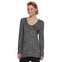 Women's Apt. 9® Marled High-Low Tunic