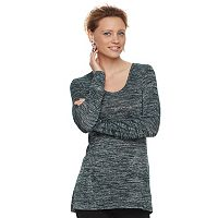 Women's Apt. 9® Marled High-Low Tunic