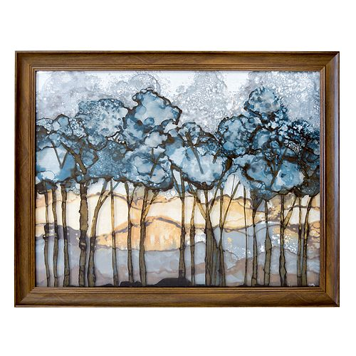 New View Forest Framed Wall Art