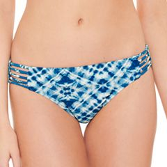 Juniors' Hot Water Tie-Dye Hipster Bikini Bottoms