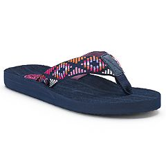 SO® Women's Woven Ribbon Sandals