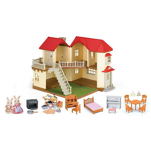 d16211129989 Calico Critters Luxury Townhome Gift Set