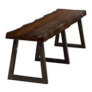 Hillsdale Furniture Emerson Metal & Wood Bench