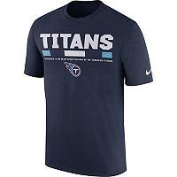 Men's Nike Tennessee Titans Legend Staff Tee