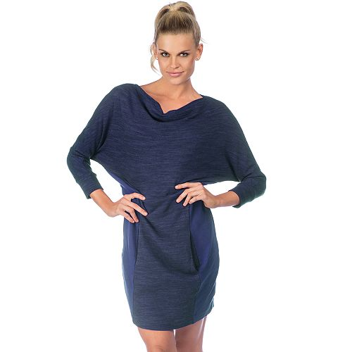Women's PL Movement by Pink Lotus French Terry Sweatshirt Dress