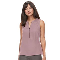 Women's Apt. 9® Zipper Accent Tank