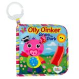 Lamaze Olly Oinker Goes To The Park Plush Stroller Book