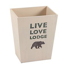 Avanti Cabin Words Wastebasket